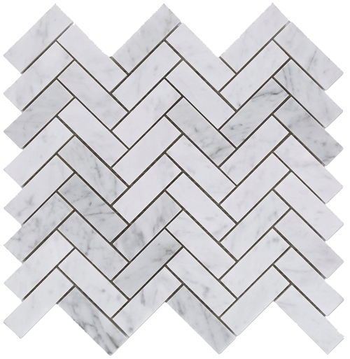 Carrara Marble Herringbone Mosaic Abi Bathrooms Amp Interiors