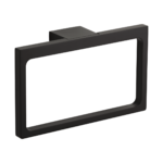 Gia Hand Towel Holder - Matte Black