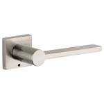 Iris Door Handle - Satin Nickel